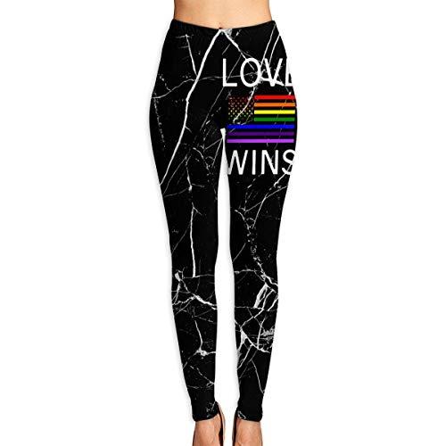 Abusss Sportswear-Strumpfhosen Leggings für Damen, Women's Leggings Yoga Pants Lesbian Pride Shirts Gay Full Length Activewear Tights