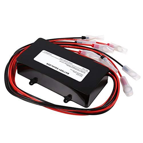 BESPORTBLE 1Pc HA02 48V Serie Anschluss und Parallelschaltung Spannungsstabilisator Balancer für Batterien Equalizer für Stromversorgung (Schwarz) Zubehör