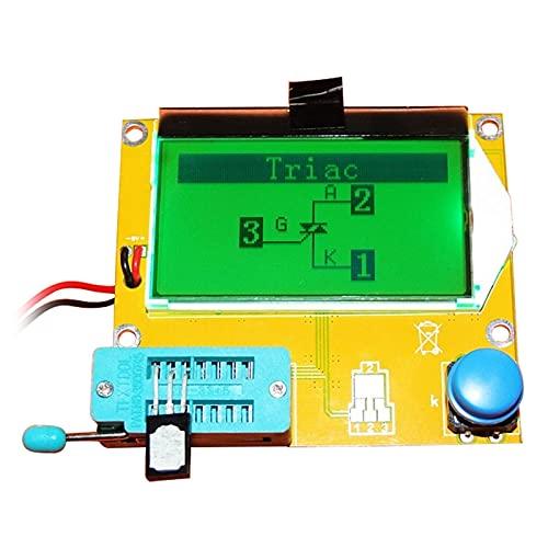herramientas eléctricas LCR-T4 MEGA328 TRANSISTOR DIGITAL TESTER DIODE TRIODE CAPACITANCE ESR SCR METER MOS/PNP/NPN LCR 12864 Pantalla LCD medidor de voltaje