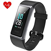 "AIKELA 【2020 Latest Model】 Fitness Trackers, IP68 Waterproof Fitness Watch with Heart Rate and Sleep Monitor, Calorie Step Counter, 0.96"" Color Display Smart Watch Activity Tracker for Kids Women Men"