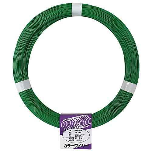 aiai カラーワイヤー 緑 #18X181M IW-355
