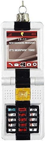 Kurt Adler RP4122 Glass Power Rangers Morpher Key Pad Ornament 5 Inch product image