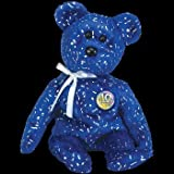 TY Beanie Baby - DECADE the Bear (Royal Blue Version)