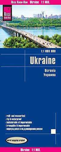 Reise Know-How Landkarte Ukraine (1:1.000.000): reiß- und wasserfest (world mapping project)