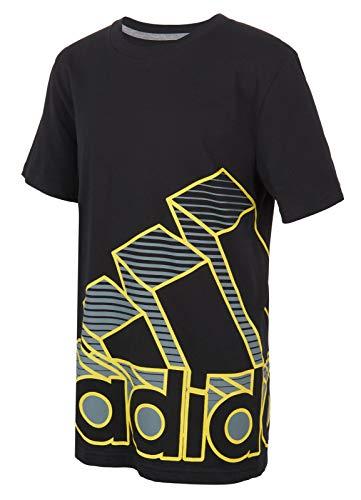 adidas Camiseta de manga corta de algodón para niño - negro - Large
