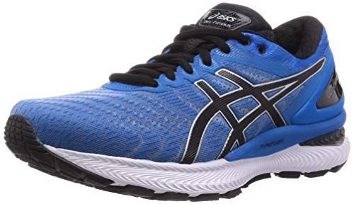 ASICS Men's Gel-Nimbus 22 Running Shoes, 11M, Directoire Blue/Black