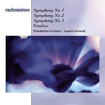 Rachmaninoff: Symphonies Nos. 1-3