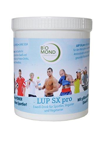 BIO Protein Shake Eiweiss-Shake LUP SX Pro Sport 900 g BIOMOND / pflanzliches Proteinpulver / LOW CARB / vegan / Süßlupine / Maca / Hanf