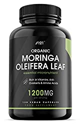 ✔ THE TREE OF LIFE: This ultra-pure formula contains 1200mg of organic moringa leaf, allowing you to experience all of the nutritional benefits that the 'Tree of Life' has to offer. Moringa is highly sought-after all over the world and is considered ...