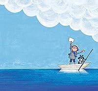子供の初心者のための5DダイヤモンドペインティングDIYダイヤモンドドローイングクロスステッチフルラウンドドリルクリスタルラインストーンペインティング刺繍キット家の装飾用 50x60cm - 海の白いボート