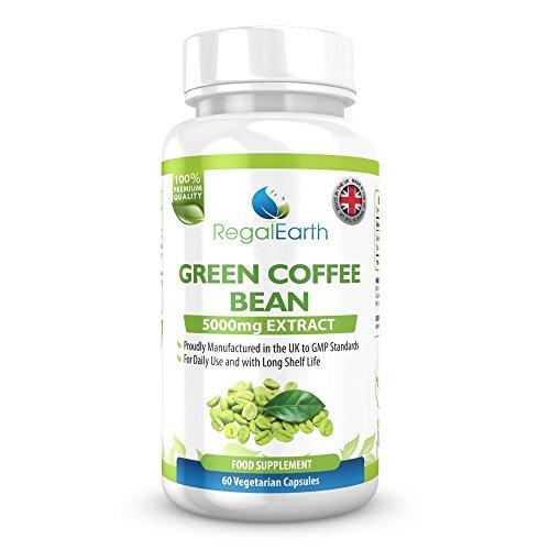 Verde chicco di caffè Estratto di perdita di peso più...