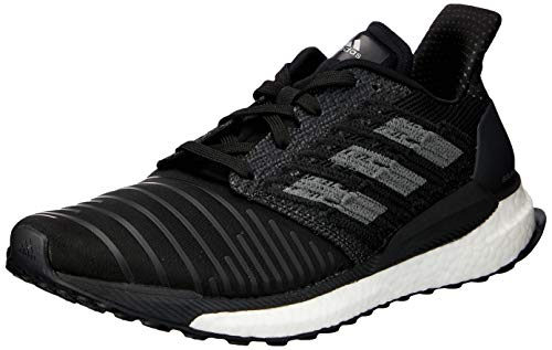 Adidas Solar Boost W, Zapatillas de Running para Mujer, Negro (Core Black/Grey Four F17/Ftwr White Core Black/Grey Four F17/Ftwr White), 40 EU