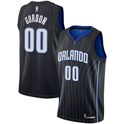 Outerstuff Aaron Gordon Orlando Magic #00 Youth Black Alternate Swingman Jersey (Medium 10/12)