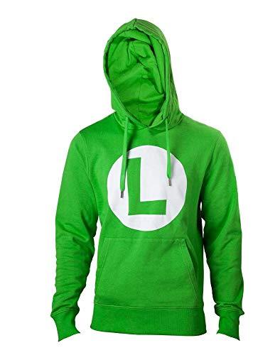 Nintendo Hoodie -L- Logo L, grün