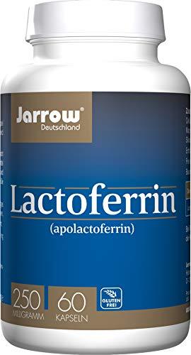Lactoferrin (apolactoferrin), 250 mg Tagesdosis, 60 Kapseln, optimal bioverfügbar, Jarrow Deutschland