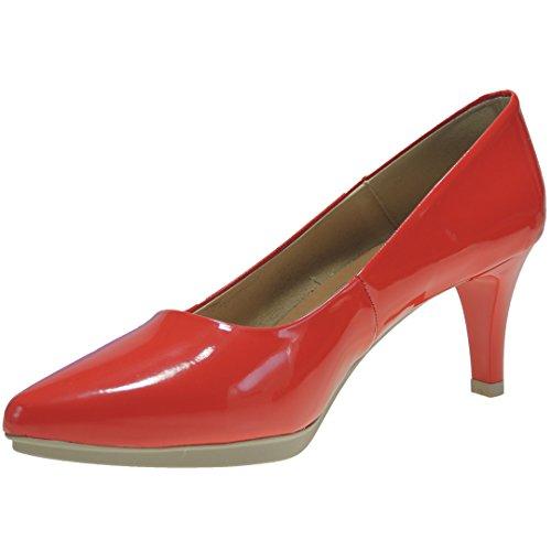 Chamby 4270 Zapato Salón Piel Tacón Fino 7 Cm Piso