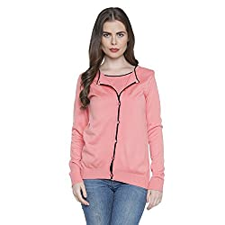 Annabelle By Pantaloons Womens V Neck Cardigan