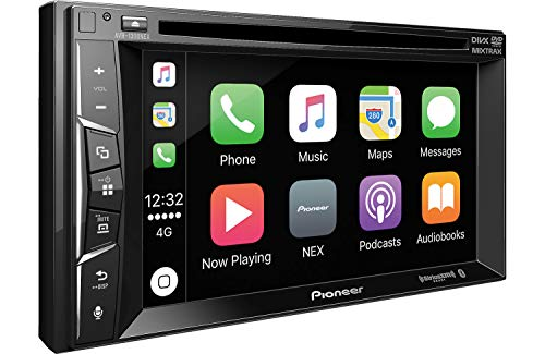 Pioneer AVH-1300NEX Multimedia DVD Receiver with 6.2' WVGA Display/Apple CarPlay/Built-in Bluetooth/SiriusXM-Ready/AppRadio Mode
