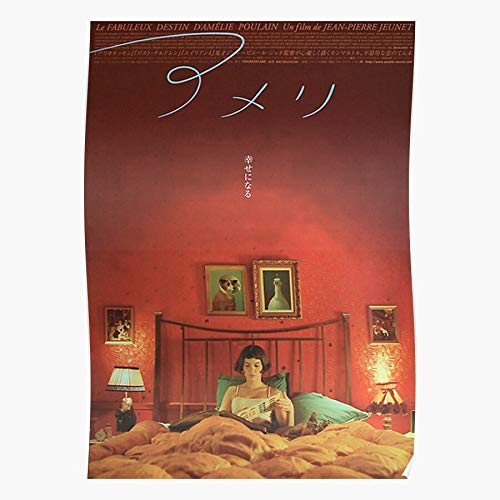 Japanese Movie Poster Foreign Amelie Shirt Romance Film The Most Impressive and Stylish Indoor Decoration Poster Available Trending Now