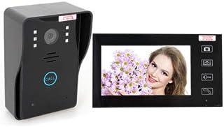 نظام كاميرا أمان باب نظام حماية الهاتف اللاسلكي 2.4G Home 7 من Elikliv