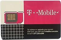 【国内 開通済みアメリカ用プリペイドSIMカード T-mobile (通話とSMSし放題 データ容量無制限)★追加チャージ対応可能なので長期滞在にも大変便利
