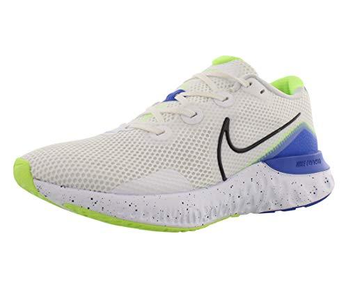 Nike Renew Run Heren Running Trainers CW5844 Sneakers Schoen (uk 8 us 9 eu 42.5, white black racer blue 100)