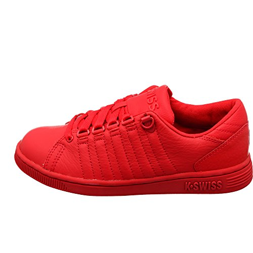 K-Swiss Damen Lozan III Monochrome Low-Top Sneakers, Rot Rbn Red Rbn Red, 35 1/2 EU