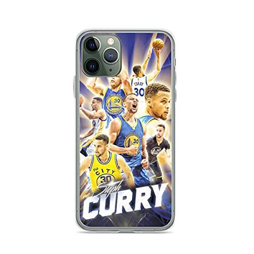 Compatibile con iPhone 12/11 PRO Max 12 Mini SE X/XS Max XR 8 7 6 6s Plus Custodie Basketball Curry GSW Warrior Custodie per Telefoni Cover