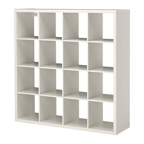 Ikea KALLAX–Regal, weiß, 147x 147cm