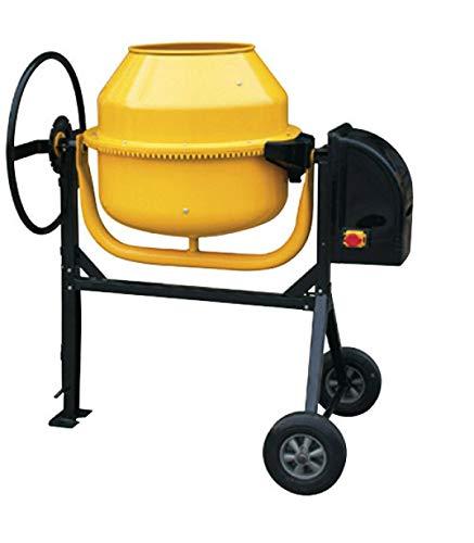 YAMATO 7180035 Hormigonera 160 litros / 650 W. Corona de Fundición Desmontable