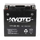 Batteria moto Kyoto SLA YT14B-BS - Pronta all'uso - 12V 12 Ah - 150 x 70 x 145 mm compatibile con Yamaha MT-01, S 1700 2002-2008