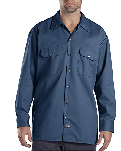 Dickies Chemise Manches longues Homme Bleu marine XL