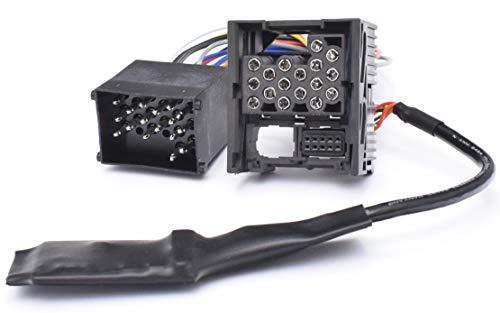 Interfaz Bluetooth para BMW E46, E39, E38, 17 pines, pin redondo.
