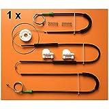 SHENYF for VW Passat regulador de la Ventana Kit de reparación Delantera del Lado Izquierdo Nuevo Conjunto 1996-2005