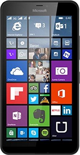 Microsoft Lumia 640XL Dual SIM colore nero