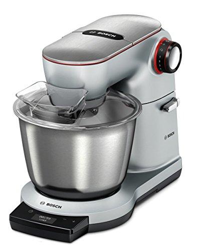 Bosch OptiMUM MUM9AD1S00 Küchenmaschine, Silber/Aluminium, 5,5l Edelstahl-Rührschüssel