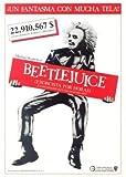 Beetle Juice – Michael Keaton - Spanish Movie Wall Poster
