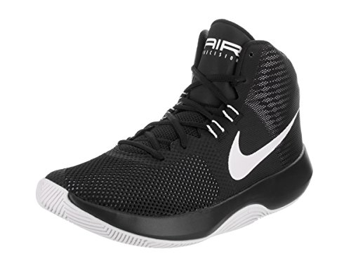 Nike Mens Air Precision Black/White/Cool Grey Basketball Shoe (size 12)