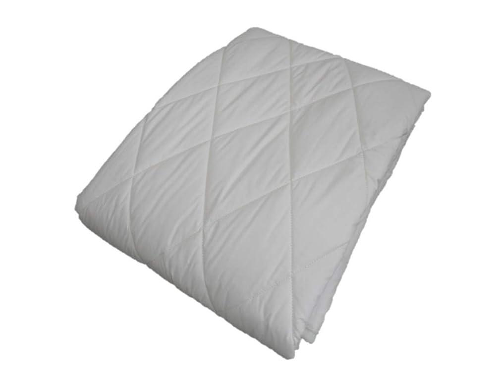 オーバーコート落花生オピエートエブリ寝具ファクトリー ダブル キナリ 洗える フランス産羊毛100% ベッドパット