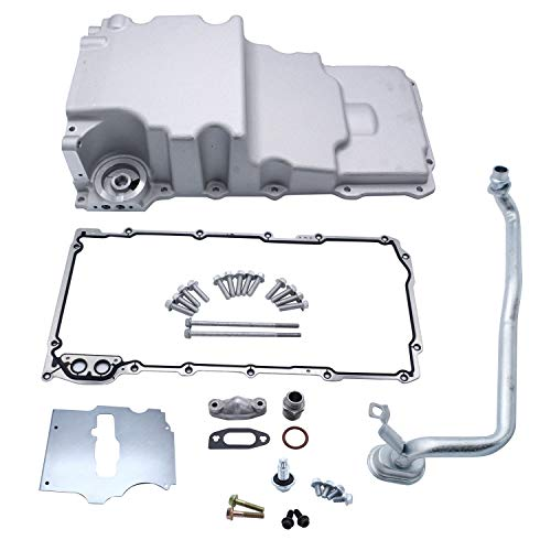 LS Engine Swap Oil Pan 302-2 Low Profile Compatible for LS1 LSX Camaro Nova F-body Extra Clearance