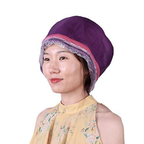 Gorro de tratamiento de acondicionamiento profundo para el cabello, calefacción eléctrica, gorro...