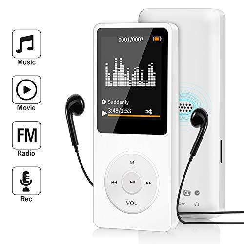 16GB MP3 Player, Wodgreat MP3 Mu...