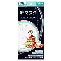 【医療レベルフィルター採用】絹マスク 3層構造 不織布 ウイルス飛沫ブロック 肌に優しいシルク素材 日本人監修   30枚入(10枚入×3パック)