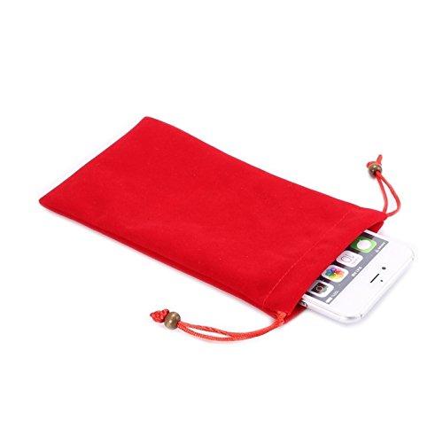 Accesorios para teléfonos móviles Universal Ocio Cotton Bloock Paño con bolsa con cortante con cortante para iPhone 6 Plus y 6S Plus, iPhone 6s Plus, Samsung Galaxy S6 Edge Plus / A8 / Note 5 / Note 4