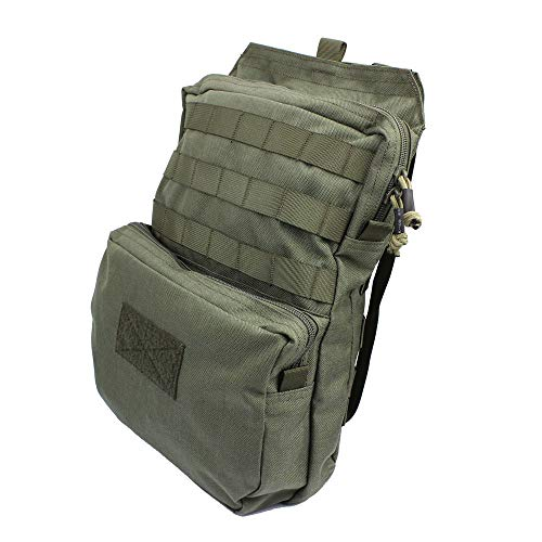 LytHarvest Tactical Molle Hydration Carrier (Bladder is not Included), Tactical Mobility 3-Liter Hydration Pack for Hiking, Biking, Climbing (Army Green)