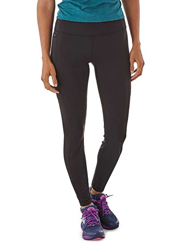 Patagonia W's Pack out Tights, Maglie Donna, Nero, L