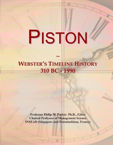 Piston: Webster's Timeline History, 310 BC - 1990