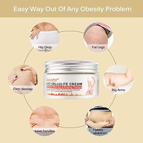 Professionelle Hot Cream,Anti Cellulite Creme,Intensive Schlankheits- und Straffungscreme, Fatburner-Creme, Schlankheitscreme für den heißen Körper, perfekt zum Formen von Taille, Bauch und Po 100 g
