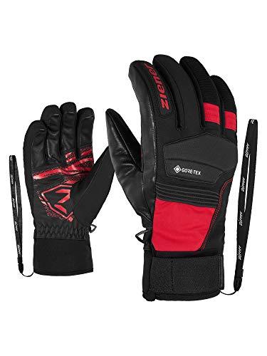 Ziener Herren GIL GTX Active Ski-Handschuhe/Wintersport | Wasserdicht, Atmungsaktiv, Gore-tex, Rennlauforientiert, Fiesta red, 11