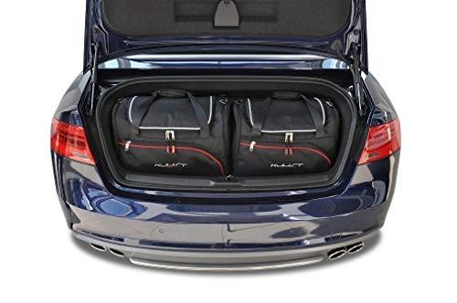 KJUST Dedizierte Reisetaschen 4 STK kompatibel mit Audi A5 Cabrio B8 2008-2016